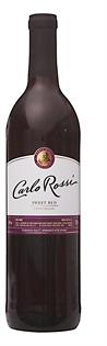 Carlo Rossi Smooth Red 750ml - Case of 12